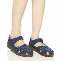 sepatu sandal wanita navy irish bella