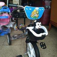 sepeda roda tiga anak bmx musik model terbaru Stainless