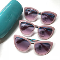 Kacamata Hitam Kate Spade Original / Katespade Cissy Sunglasses Pink