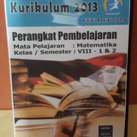 Cd Rpp K13 edisi revisi 2017 mapel MATEMATIKA kls VIII