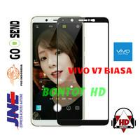 VIVO V7 BIASA / Y75 Tempered Glass Color Warna Screen Full Layar HP
