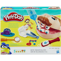 playdoh doctor drill and frill play-doh dokter gigi play doh