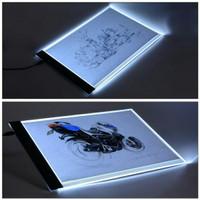 LED Drawing Tracing Stensil Board A4 Papan Jiplak Gambar Anak & Dewasa