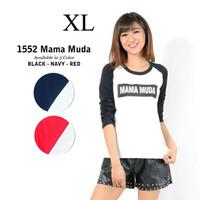 Baju Wanita Tumblr Mamah Muda uk XL Murah Meriah