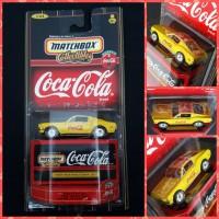 Matchbox Coca Cola Premiere Collection 1968 Mustang Cobra Jet