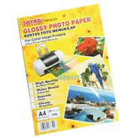 GLOSY PAPER / KERTAS FOTO 230 GRAM JOYKO A230 A4 20 LEMBAR GROSIR