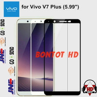 Vivo V7 Plus V7Plus V7+ Tempered Glass Color Full Layar HP