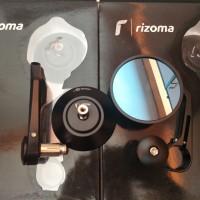 Mirror Bar End Rizoma Rizoma Retro Class Mirror Handlebar / Spion Jalu