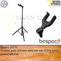 Bespeco SH710 Stand Gitar Tripod For Elektrik - Akustik Lock System