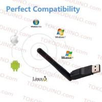 Dijual Usb Wifi Dongle Raspberry Pi, Pc - Mediatek Ralink Rt5370 -