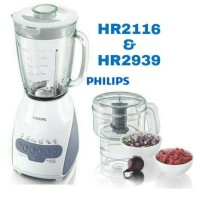 New! Paket Blender + Chopper Philips Hr2116 Hr2939 Hr 2116 Hr 2939