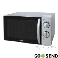 New! Microwave Low -Watt Aqua Harga Ekonomis Aem S1112S Murah