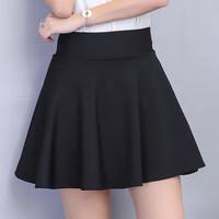 Lovely Flare Skirt(#805)/Mini Skirt/Rok mini/Rok Pendek Wanita/RokCewe