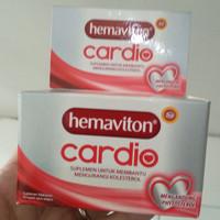 Hemaviton cardio isi 30 Vitamin Jantung Kolesterol