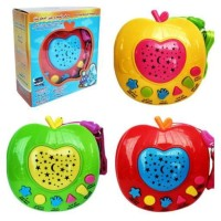 Mainan Anak Muslim Apple Learning Quran + Projector Lamp / Apel Quran