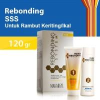 Makarizo Rebonding System SSS Pelurus Rambut Keriting/Ikal