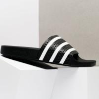 Sandal Pria - Adidas Adilette Sandal Black - ORI