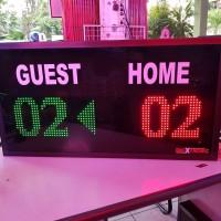 score board  futsal dan badminton