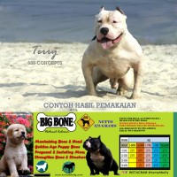 Dog & Cat Raw Food - Big Bone Calcium 350gr (Kalsium untuk Anjing)