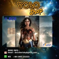 KARTU FLAZZ BCA CUSTOM | WONDER WOMAN EDITION 5
