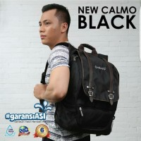 GabaG Calmo Tas Notebook Cooler Thermal Bag Black Backpack Ransel Bayi