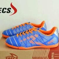 sepatu futsal untuk anak specs vertecs blue list orange import