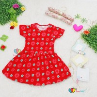 Dress Prilly Uk 3-4th / Baju Anak Pesta Dress Anak Perempuan Dres
