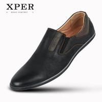 Harga original xper brand new spring autumn men shoes import pria blue   antitipu.com