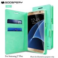 GOOSPERY Samsung J7 Plus / C7 2017 / C8 Blue Moon Diary Case