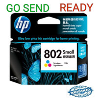 HP 802 SMALL ORIGINAL Colour Ink Catridge Warna kecil printer