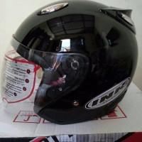 Terbaru Paling Top helm basic model ink Centro hitam metalik Murah Ky