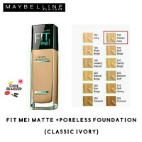 Harga Maybelline Fit Me Foundation Travelbon.com