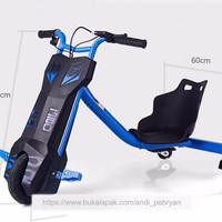 DRIFT SCOOTER elektrik - Mainan anak model sepeda skuter