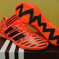 Sepatu Futsal Adidas Nemeziz 17.3 AGILITY BANDAGE Pyro Storm