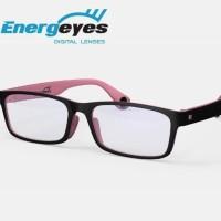 Kacamata / Lensa Anti Sinar Biru Energeyes pink