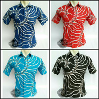 Model Baju Kemeja Batik Modern Pria || Assikah Batik