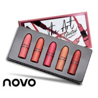 NOVO MINI THE ART OF LIPSTICK 5in1 / NOVO NATURAL  AND VIVID LIPSTICK