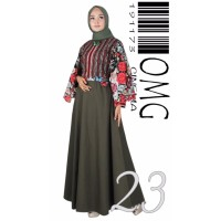 Maxi Dress / Gamis OMG / Baju Pesta