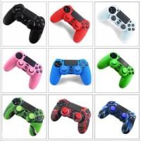 Harga ps4 controller cover 2 thumbstick joystick silicone caps case | Hargalu.com