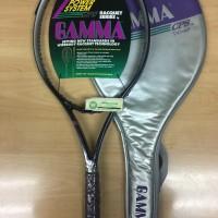 Harga rare raket tenis gamma cps 110 xp bonus senar dan grip | Pembandingharga.com
