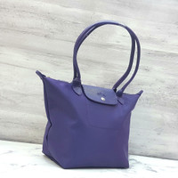 LONGCHAMP NEO LONG HANDLE NYLON HAND / TOTE BAG / TAS WANITA