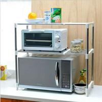 Microwave Storage Rack Organizer/ Rak Microwave Portable Multifungsi