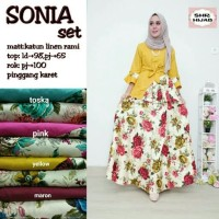 Sonia set rok muslim by SHR HIJAB
