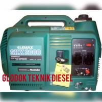 ELEMAX HONDA PORTABLE GENERATORS GENSET INVERTER SHX 2000 2 KVA ORI