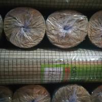 """Kawat Loket PVC (Kawat Ram) Green Mesh 1/2"""""""