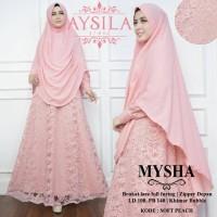 16318 MYSHA SYARI by aysilla/gaun/mewah/murah/pesta/original/cantik