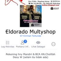 Add facebook Eldorado Multyshop utk katalog terbaru baju muslim&pesta