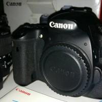 kamera canon 60d kit 18-55mm fulset