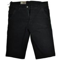 Harga PKI 032 celana pendek santai jeans streatch pria hitam terbaik   WIKIPRICE INDONESIA
