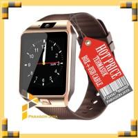 SMART WATCH U9 / SMARTWATCH DZ09 Gold Emas SIMCARD MICRO MEMORY CARD
